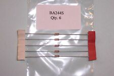BA244S  VHF/UHF  50Mhz-1Ghz band switching diodes  Siemens  NOS Qty. 6