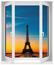 Sticker fenêtre Tour Eiffel 100x120cm réf F513