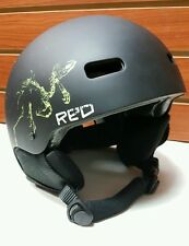 RED Trace Grom Helmet Size: 53-55YL  (Ski, Snowmobile, Biking)