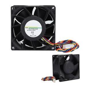 High Speed  Dual Ball Bearing 12V 8cm 80x80x38mm Computer Cooling Case Fan 80mm