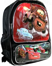 Disney Cars Backpack New with tags 16 Inch x 12 Inch x 4.5 Inch McQueen Mater