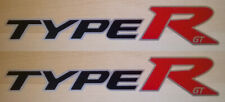 Honda Civic Type-R GT Side Stickers Set - Honda Type R Panel Graphics Decals GT