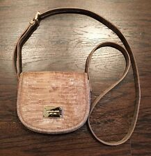 Michael Kors Cross Body Bag Snakeskin/tan