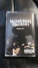 "Method Man & Redman ""Blackout!"" East Coast Hip-Hop Rap Cassette Tape Very Good"