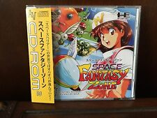SEALED Space Fantasy Zone for PC Engine Turbografx Turbo DUO