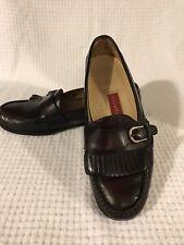 Cole Haan Leather Kiltie Buckle Casual Dress Loafer Shoes Men's 9 D