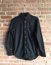 Gitman Bros for Opening Ceremony, Men's Shirt, Sz Medium, 100% Cotton USA Black