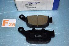 2 plaquettes de frein origine TRIUMPH TIGER 800 / XC STREET TRIPLE DAYTONA 675 R