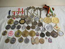 Sammlung 44 ältere Orden Medaillen Schützen Verein Auszeichnungen 70er 80er