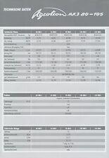 Deutz-Fahr Agrotron MK3 80-105 Prospekt Technik 2001 11/01 brochure prospectus