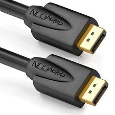 5m DisplayPort Kabel DP Verbindungskabel 1080p/fullhd/3d/hdcp/dp deleyCon