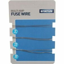 STATUS MULTI AMP FUSE WIRE 5AMP 15AMP 30AMP free post fuses electric switch new