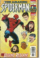 °THE AMAZING SPIDER-MAN #1 THE LEGEND REBORN° USA Marvel 1998 Cover A J. Byrne