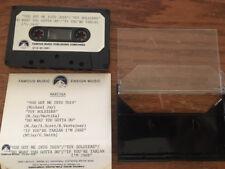 Marika promo cassette