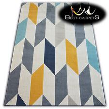 TRENDY Thick Carpets STYLISH MODERN RUG 'SCANDI' Diamonds CHEAP Best-Carpets