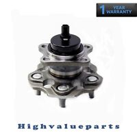 512509 Rear Wheel Bearing and Hub Assembly for Toyota 12-17 Prius V 16-17 Mirai