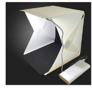 Photo Studio Kit Light Box Medium 40cm Foldable Room Camera Lighting Tent
