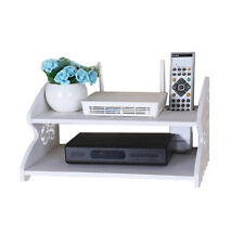 Home Wifi Router Shelf Wall Mounted TV Set Up Box Storage Rack Car Shaped Holder