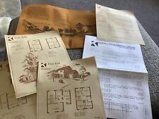 More details for vintage housing development harrogate 1983 kebbell homes styles prices ephemera