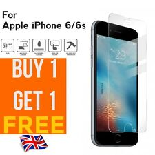 100%25 Genuine Tempered Glass Screen Protector Protection For Apple iPhone 6/6s