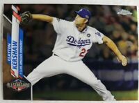 💥 CLAYTON KERSHAW 2020 TOPPS CHROME UPDATE ASG LOS ANGELES DODGERS💥💥