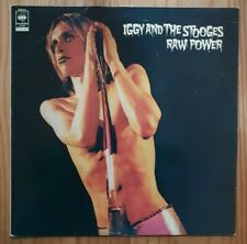 "Iggy & The Stooges ""Raw Power"" UK Press Vinyl LP CBS Records Embassy S31464"