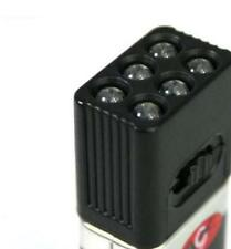 9 Volt Battery LED Mini Flashlights | Single LED Flashlights