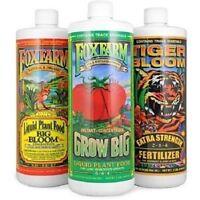 Fox Farm Trio 3-PK Big Bloom Tiger Bloom & Grow Big Soil foxfarm 1 Pint
