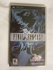 Final Fantasy 20th Anniversary (PlayStation PSP) Black Label Original New Sealed