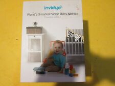 New listing Invidyo World's Smartest Video Baby Monitor Powered With A.I New Open Boxed