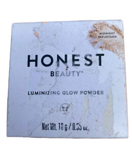 Honest Beauty Luminizing Glow Powder Midnight Reflection New Sealed