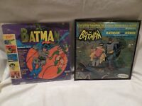 "VINTAGE ""BATMAN AND ROBIN"" RECORD ALBUMS  1966"