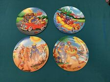 New Listing1998 McDonalds Plates Fun In The Sun Lot Of 4