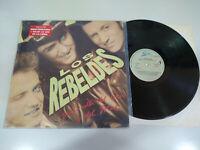 """Los Rebeldes Mas Alla del Bien y del Mal 1988 Epic - LP Vinilo 12"""" VG/VG"""