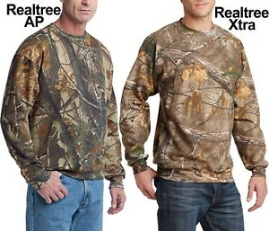 Russell Camo REALTREE XTRA, AP Crewneck Sweatshirt Hunting S M, L, XL, 2XL, 3XL