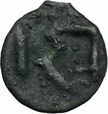 ISTROS Thrace 500BC Wheel Money Authentic Ancient Greek Coin BLACK SEA i46834