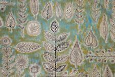 Vintage mid century modern 70s fabric material curtain Boussac Pasceline Villon