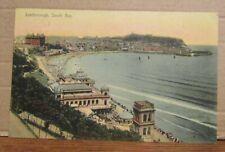 1905 Beach & Area Scene Postcard - Scarborough North Yorkshire England UK