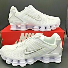 Nike Shox TL White Silver Men Running Trainer Shoe R4 501524 091 New NZ Sz 11