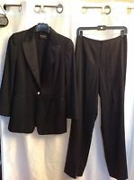 Dana Buchman 2pc Black pant and Blazer Suit  size 6