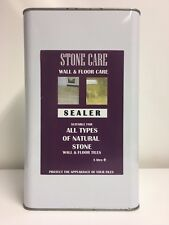 Stone and Tile Sealer   Impregnator for all Natural Stone   1x5 Litres