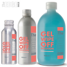The Edge Nails UV Gel Finishing Wipe off Solution Remover Size 100 200 or 500ml
