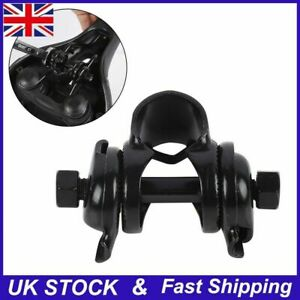 SADDLE / SEAT FIXING CLAMP For Seatposts Bikes & Cycles - 22.2mm BLACK