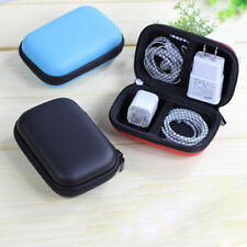 Travel Storage Bag Earphone Headphone USB Cable Organizer Portable Storage Case