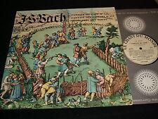 BACH CANTATAS 211 & 212<>KOCH-SANDIG<>Lp Vinyl~France Pressing~LDX-S-8247