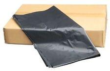 200 x BLACK BIN BAGS HEAVY DUTY LINERS REFUSE SACKS WASTE PLASTIC UK 100G GAUGE
