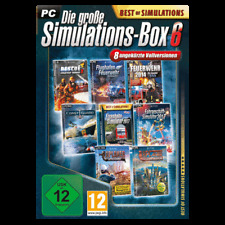 The Great Simulations-Box 6 (Best Of Simulations) PC New+Boxed