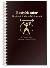 NEW BODYMINDER Workout and Exercise Journal A Fitness Diary FREE SHIPPING