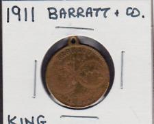 1911 Barratt & Co. King George V Coronation Medal