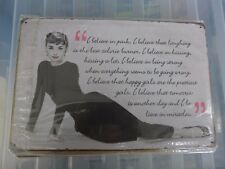 Audrey Hepburn Metal Sign Painted Poster Comics Book Superhero Wall Decor Office